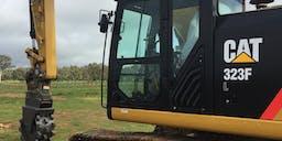 Bradley Excavations Track Mounted Excavator