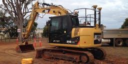 Black cat civil Track Mounted