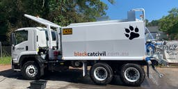 Black cat civil Truck Mounted