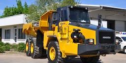 A-Plant Equipment Articulated Dump Truck