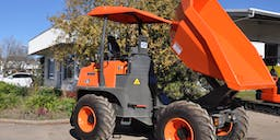A-Plant Equipment Site Dumpers and Front Tippers