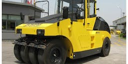 A-Plant Equipment Multi Tyred Roller
