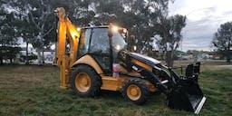 A-Plant Equipment 4x4 Backhoe