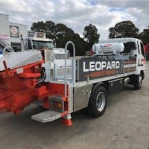 Logo of Leopard Concrete Pumping