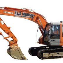 Logo of K & S Marsh Excavations
