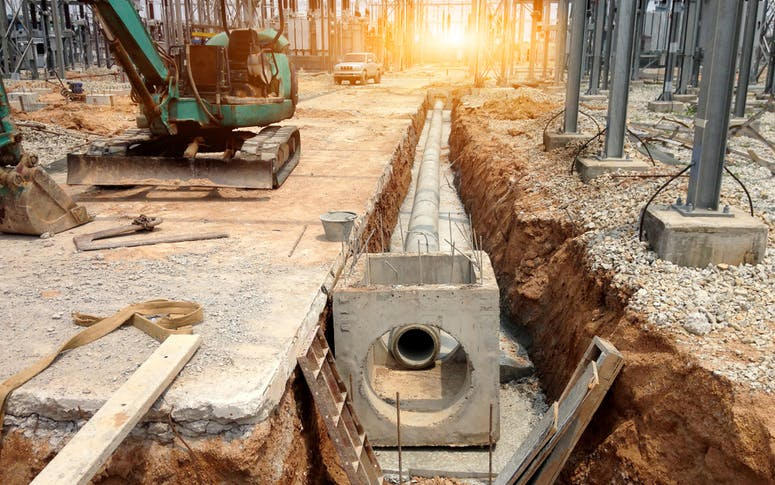Drainage and Pipelaying