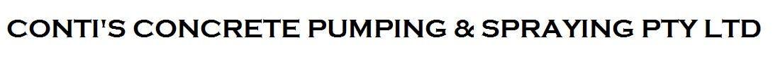 Conti's Concrete Pumping & Spraying Pty Ltd