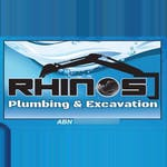 Rhinos Plumbing and Excavations  logo
