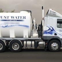 Logo of Just water cartage