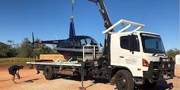 West Coast Tilt Trays and Hiab Trucks Crane Truck